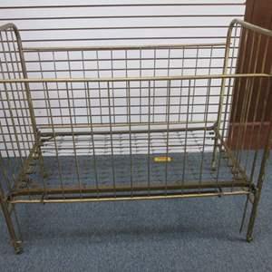 Lot # 5 - Vintage Metal Crib by Hero