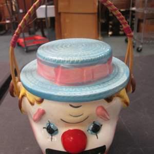 Lot # 16 - Vintage Clown Biscuit/Cookie Jar