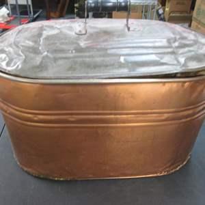 Lot # 52 - Vintage Copper Boiler