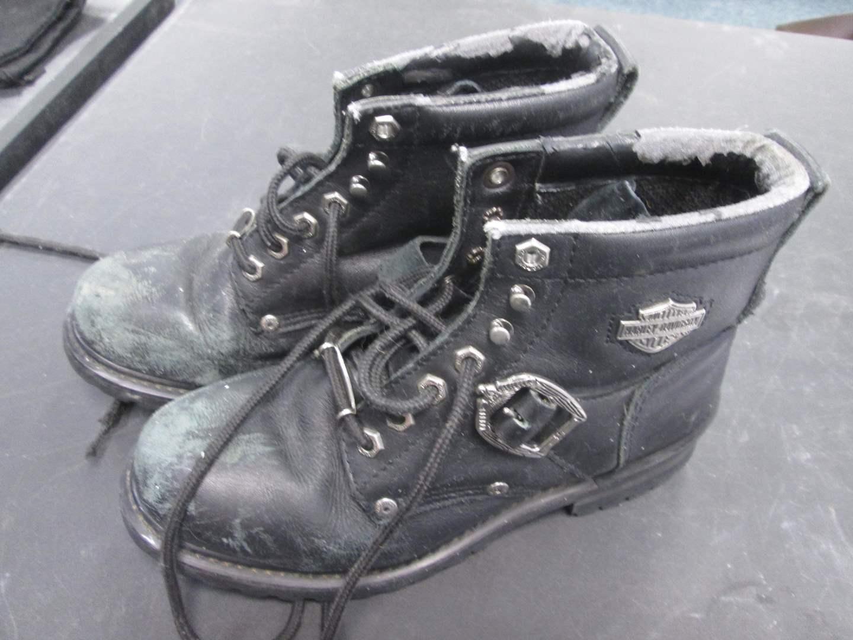 Lot # 55 - Harley Davidson Motorcycle Boots (main image)