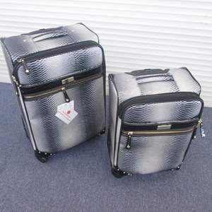 """Lot # 65 - Samantha Brown 2-Piece Luggage Spinners, 20"""", 24"""" NEW!"""