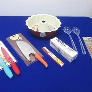 Lot # 69 - Kitchen Tools & Rachel Ray Knives