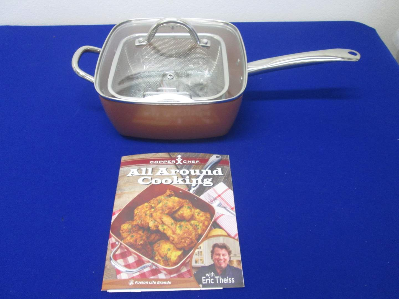 Lot # 70 - Copper Chef Cookware NEW! (main image)