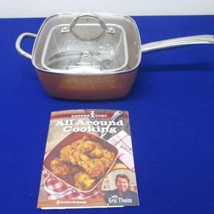 Lot # 70 - Copper Chef Cookware NEW!