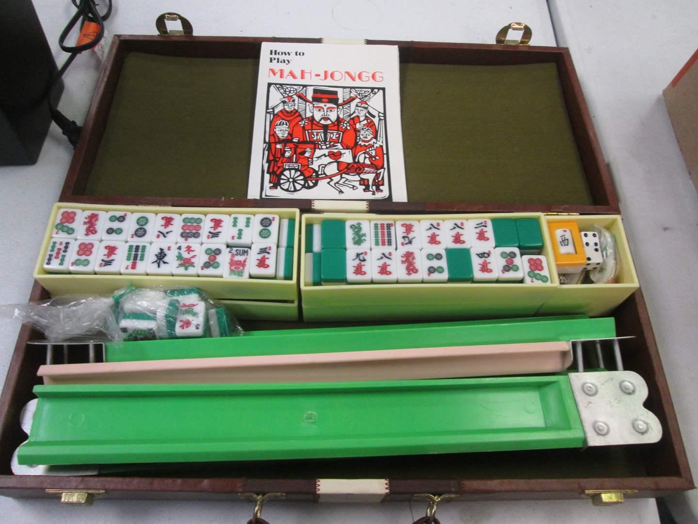 Lot # 77 - Mah Jongg Set in Case (main image)
