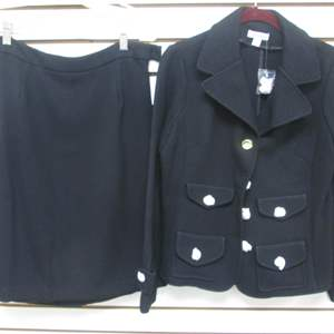 Lot # 86 - Joan Rivers Suit, NEW, Tag on and buttons still covered in paper!