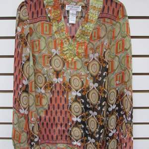 Lot # 92 - Blouse by Victor Costa, Small Size