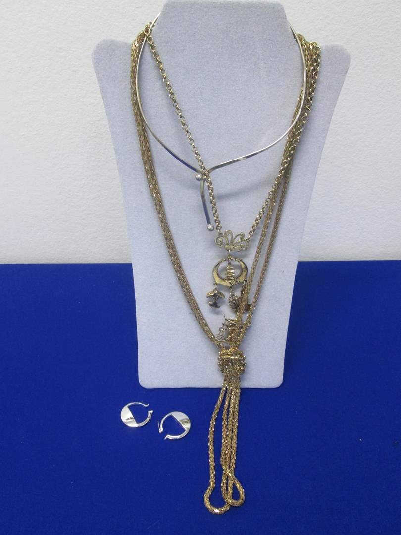 Lot # 112 - Costume Jewelry Selection (4 Pieces) (main image)