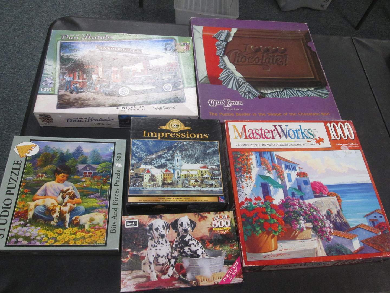 Lot # 104 - 6-Puzzles (main image)