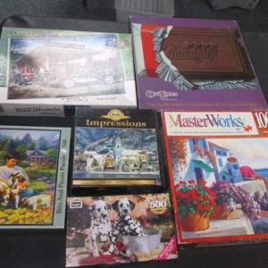 Lot # 104 - 6-Puzzles