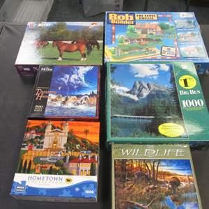 Lot # 105 - 6-Puzzles