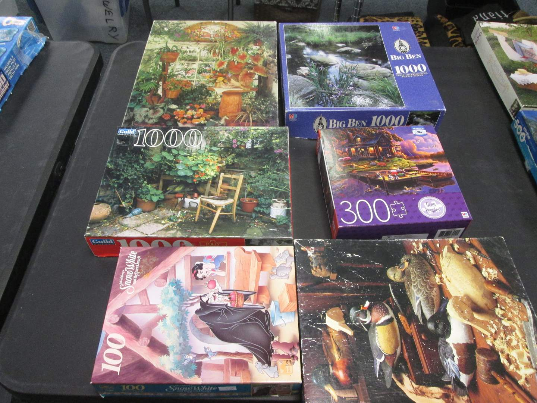 Lot # 106 - 6-Puzzles (main image)