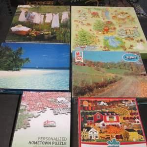 Lot # 107 - 6-Puzzles