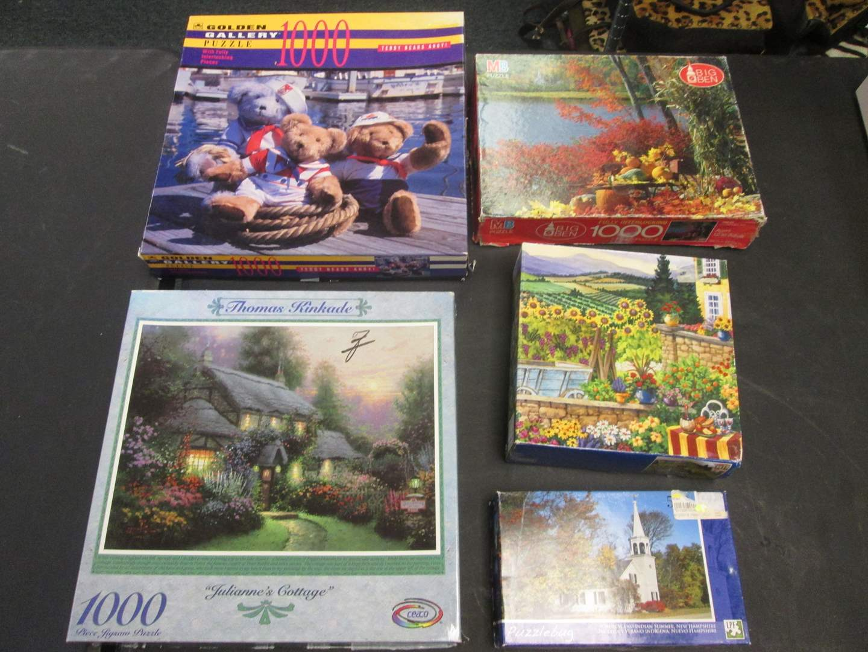 Lot # 108 - 5-Puzzles (main image)