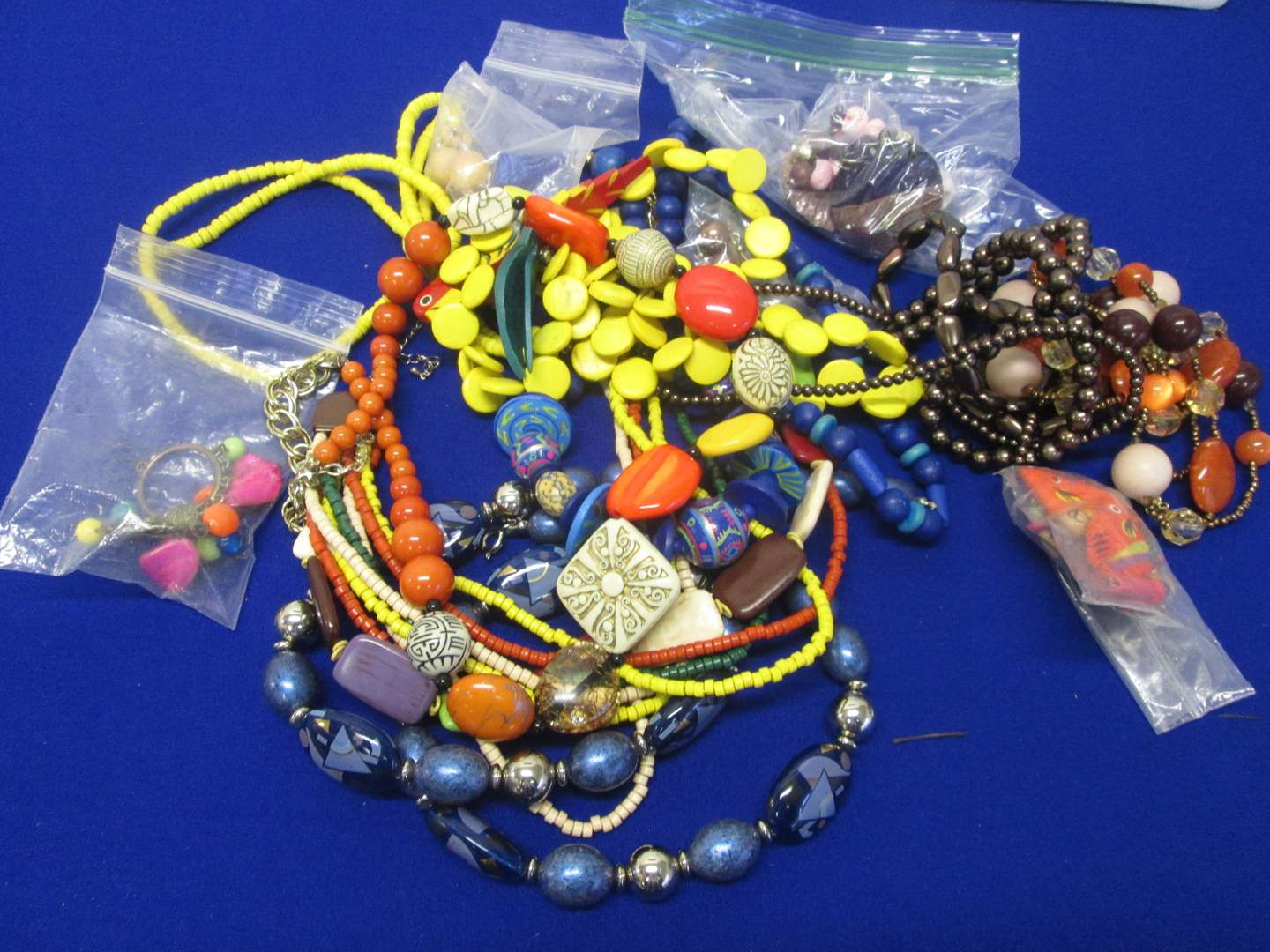 Lot # 122 - Variety of Necklaces & Earrings (main image)