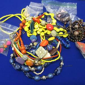 Lot # 122 - Variety of Necklaces & Earrings