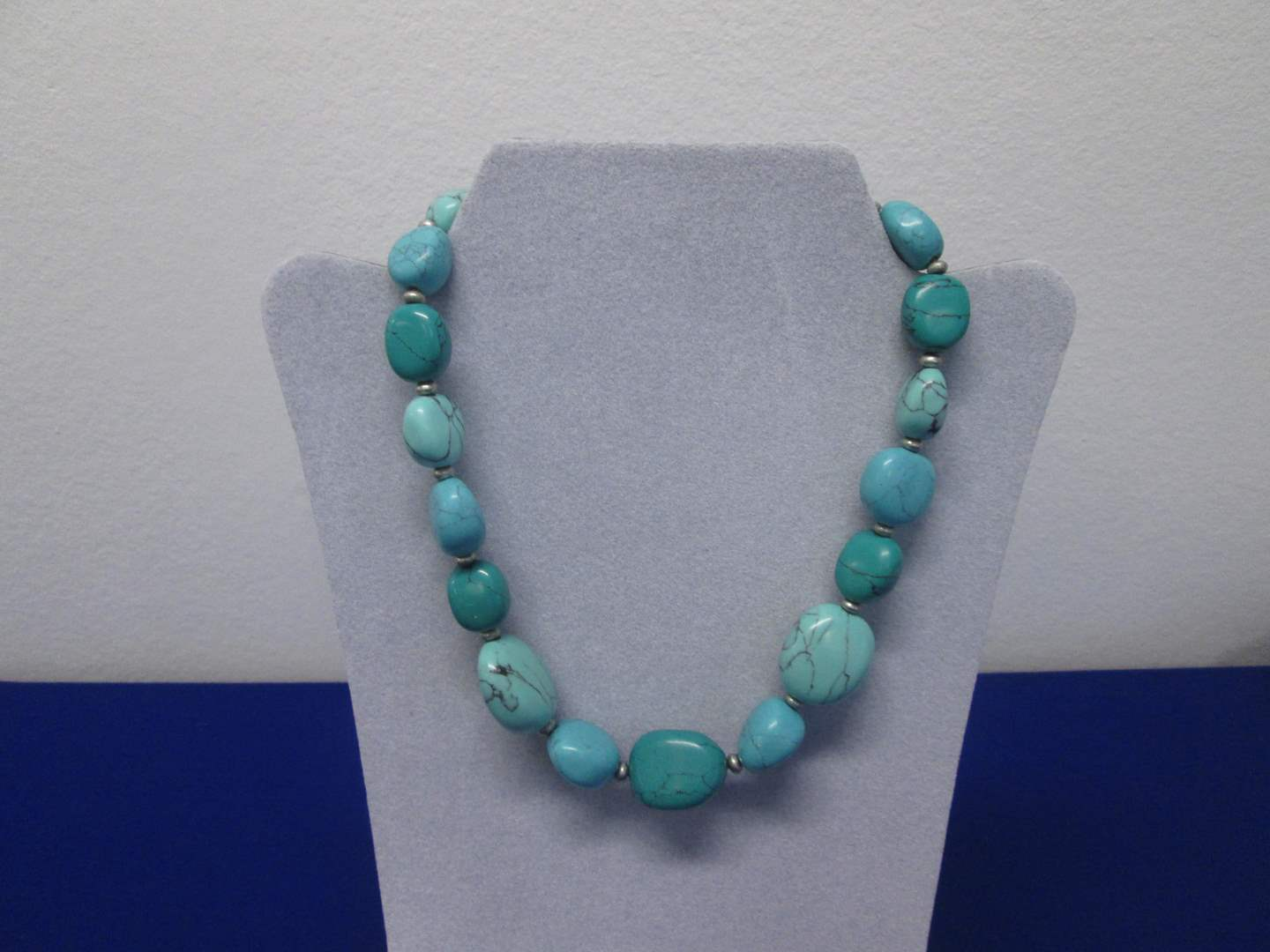 Lot # 124 - Turquoise-Colored Necklace by American Living (main image)
