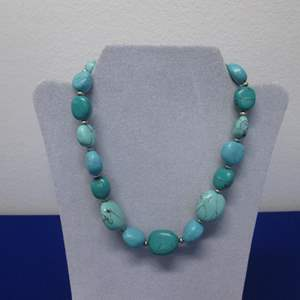 Lot # 124 - Turquoise-Colored Necklace by American Living
