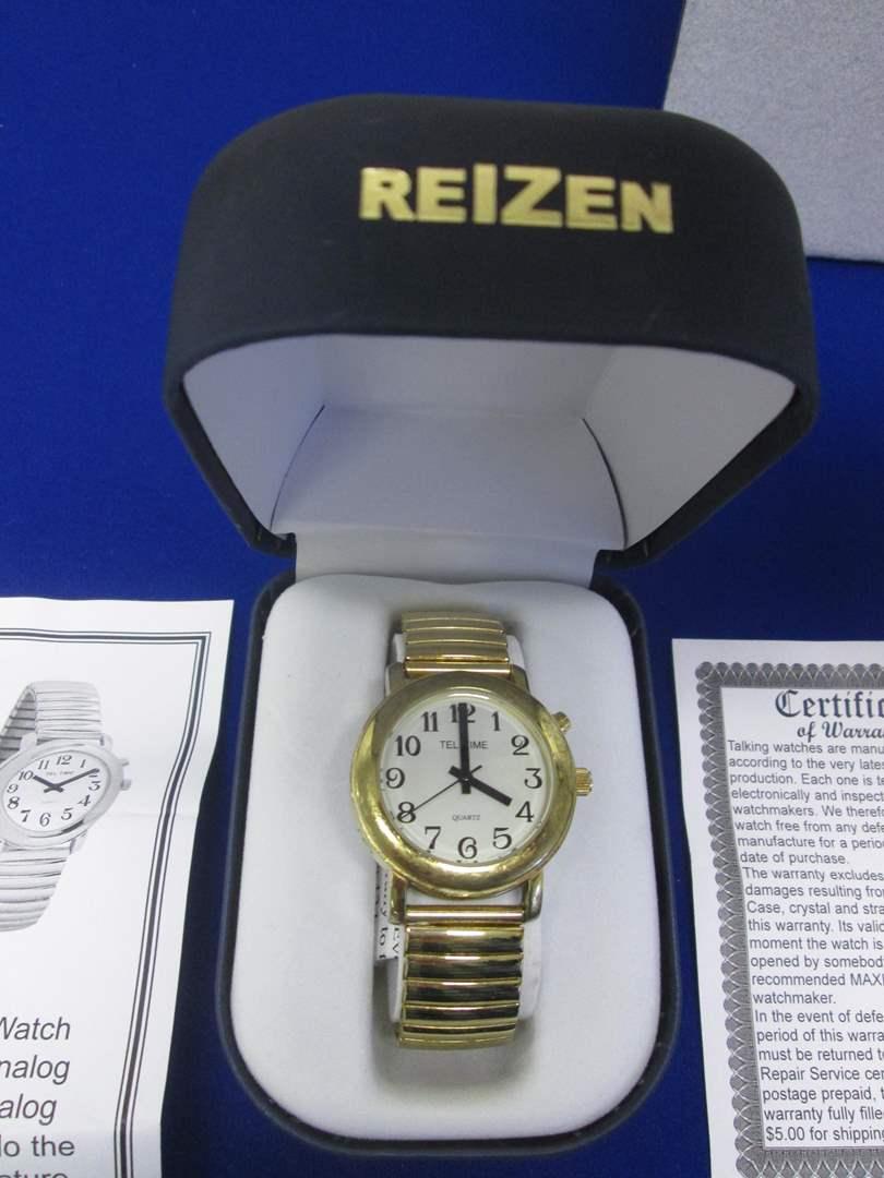 Lot # 128 - Reizen Talking Atomic Watch, NIB (main image)