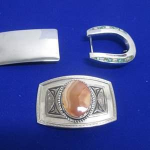 Lot # 139 - 3-Belt Buckles