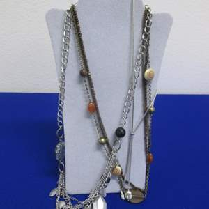 Lot # 144 - 3-Costume Jewelry Necklaces
