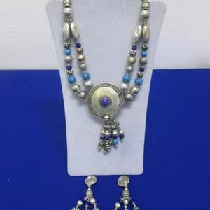 Lot # 157 - Tribal Earrings & Necklace