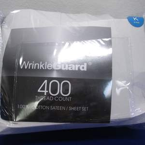 Lot # 168 - King Sheet Set New Opened Package