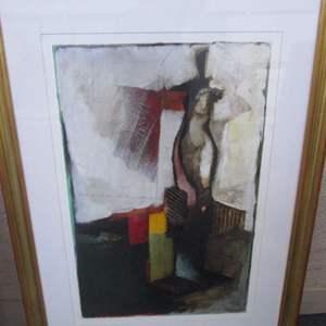 Lot # 19 - Framed Abstract Wall Art