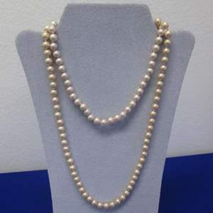 Lot # 116 - 2-Costume Jewelry Necklaces