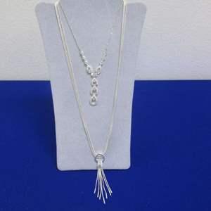 Lot # 132 - 2-Necklaces & Bracelet, Costume Jewelry