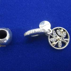 Lot # 155 - Pandora Sterling Family Charms