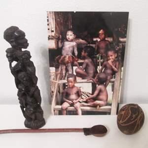 Lot # 33 - Ethnic Motif Travel Souvenirs (4-Pieces)
