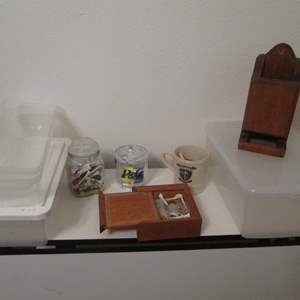 Lot # 37 - Golf Accessories & Storage Containers