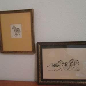 Lot # 38 - Framed Wall Art