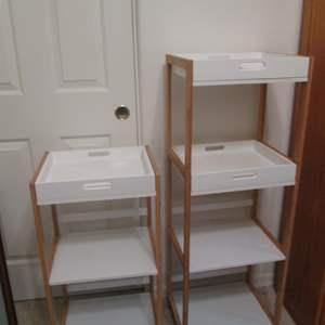 Lot # 56 - 2-Storage Shelf Units