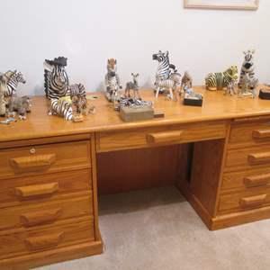 "Lot # 82 - 72"" Winner's Desk, Plenty of Storage & Function!"