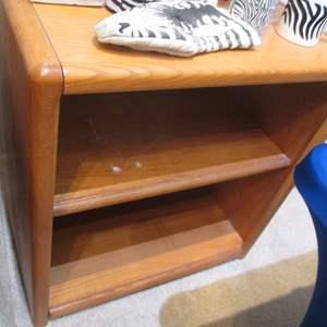 Lot # 85 - 2-Shelf Bookcase
