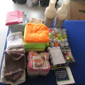 Lot # 9 - Microfiber Towels & Golf Balls