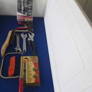 Lot # 17 - Metric Socket Set + Assorted Hand Tools