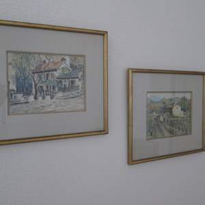 Lot # 122 - 2-Framed Wall Art Pictures