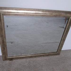 Lot # 124 - Framed Wall-Mount Mirror