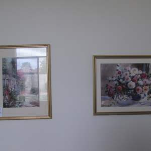 Lot # 125 - 2-Framed Wall Art Pictures