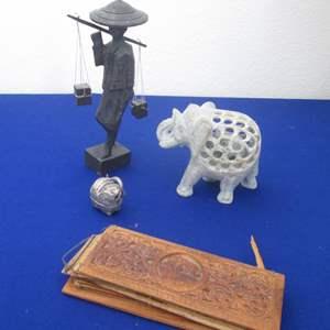 Lot # 140 - Asian-Travel Treasures, 4-Pieces