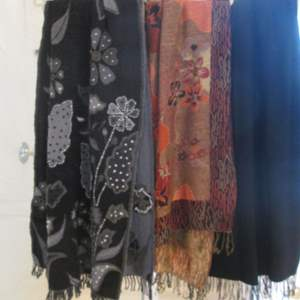 Lot # 142 - Chico's Wool & Decorative Large Scarves (3)