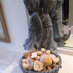 """Lot # 144 - Figural Statue, 12"""" X 14"""" X 19"""""""