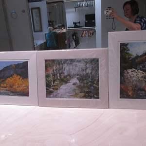 Lot # 150 - 3-Landscape Art Pictures