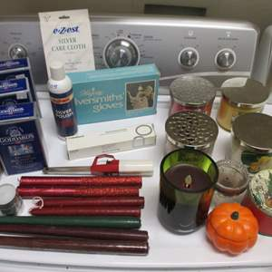 Lot # 186 - Candles & Silver Polish Supplies