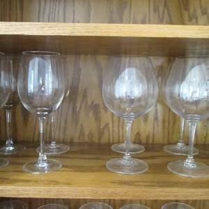 Lot # 196 - 8-Wine Stems