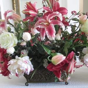 "Lot # 224 - Potted Floral Centerpiece, 38"" X 27 """