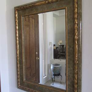 "Lot # 227 - Beautifully Embellished Wall Mirror, 48"" X 62"""